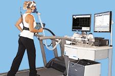 Cardiologie plateau technique et vo2 du centre de consultation de la clinique du sport - Test vo2max sur tapis roulant ...